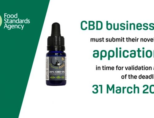 FSA deadline For CBD Novel Food Applications